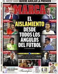 capa Jornal Marca de 15 março 2020