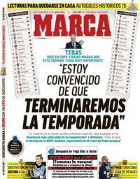 capa Jornal Marca de 16 março 2020
