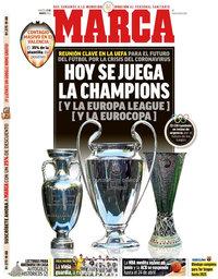 capa Jornal Marca de 17 março 2020