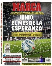 capa Jornal Marca de 18 março 2020