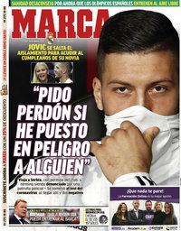 capa Jornal Marca de 20 março 2020