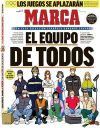 capa Jornal Marca de 23 março 2020