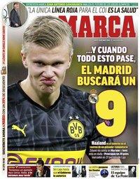 capa Jornal Marca de 24 março 2020