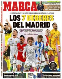 capa Jornal Marca de 26 março 2020