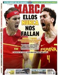 capa Jornal Marca de 27 março 2020