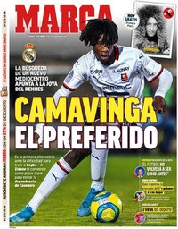 capa Jornal Marca de 29 março 2020