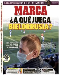 capa Jornal Marca de 30 março 2020