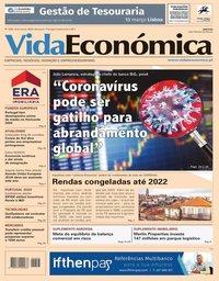 capa Jornal Vida Económica de 6 março 2020