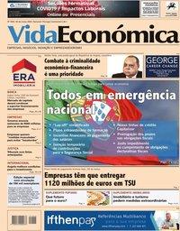 capa Jornal Vida Económica de 20 março 2020