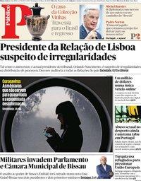 capa Público de 1 março 2020