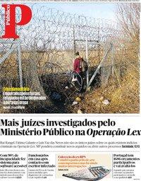capa Público de 2 março 2020