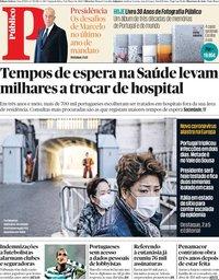 capa Público de 9 março 2020