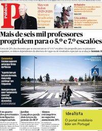 capa Público de 10 março 2020