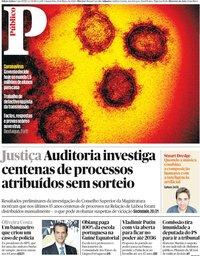 capa Público de 11 março 2020