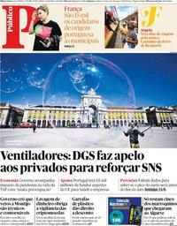 capa Público de 14 março 2020