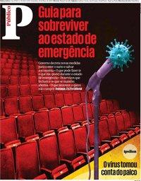 capa Público de 20 março 2020