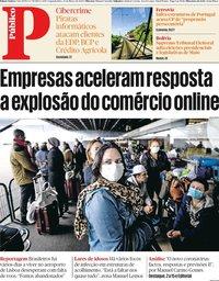capa Público de 23 março 2020