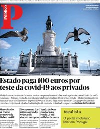 capa Público de 24 março 2020