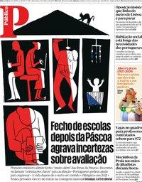 capa Público de 25 março 2020