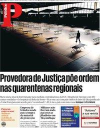 capa Público de 27 março 2020