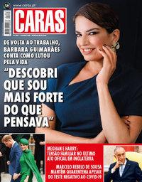 capa Revista Caras de 12 março 2020