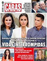 capa Revista Caras de 19 março 2020
