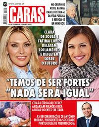 capa Revista Caras de 26 março 2020
