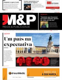 capa Revista Meios e Publicidade de 20 março 2020