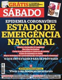capa Revista Sábado de 12 março 2020