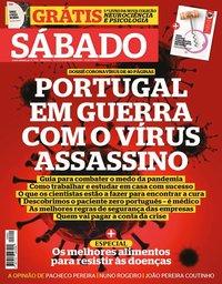 capa Revista Sábado de 19 março 2020