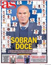 capa Jornal As de 1 abril 2020