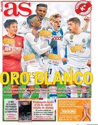 capa Jornal As de 5 abril 2020