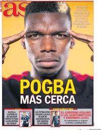 capa Jornal As de 6 abril 2020