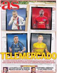 capa Jornal As de 8 abril 2020