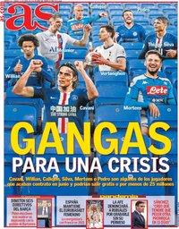 capa Jornal As de 10 abril 2020