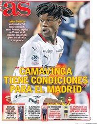 capa Jornal As de 15 abril 2020