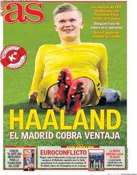 capa Jornal As de 17 abril 2020