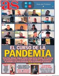 capa Jornal As de 18 abril 2020