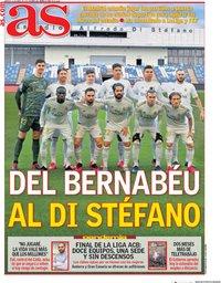 capa Jornal As de 21 abril 2020