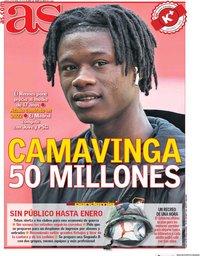 capa Jornal As de 23 abril 2020