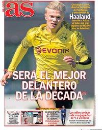 capa Jornal As de 24 abril 2020
