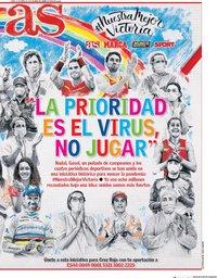 capa Jornal As de 27 abril 2020