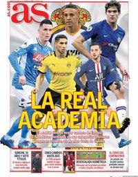 capa Jornal As de 28 abril 2020