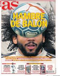 capa Jornal As de 30 abril 2020
