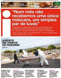 capa Jornal i de 7 abril 2020