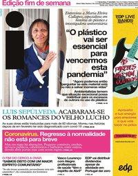 capa Jornal i de 17 abril 2020
