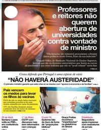 capa Jornal i de 23 abril 2020