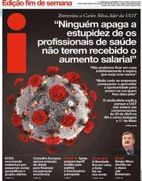 capa Jornal i de 24 abril 2020