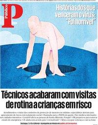 capa Público de 1 abril 2020