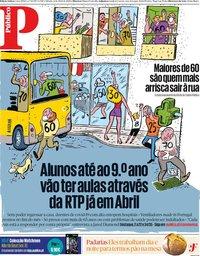 capa Público de 4 abril 2020